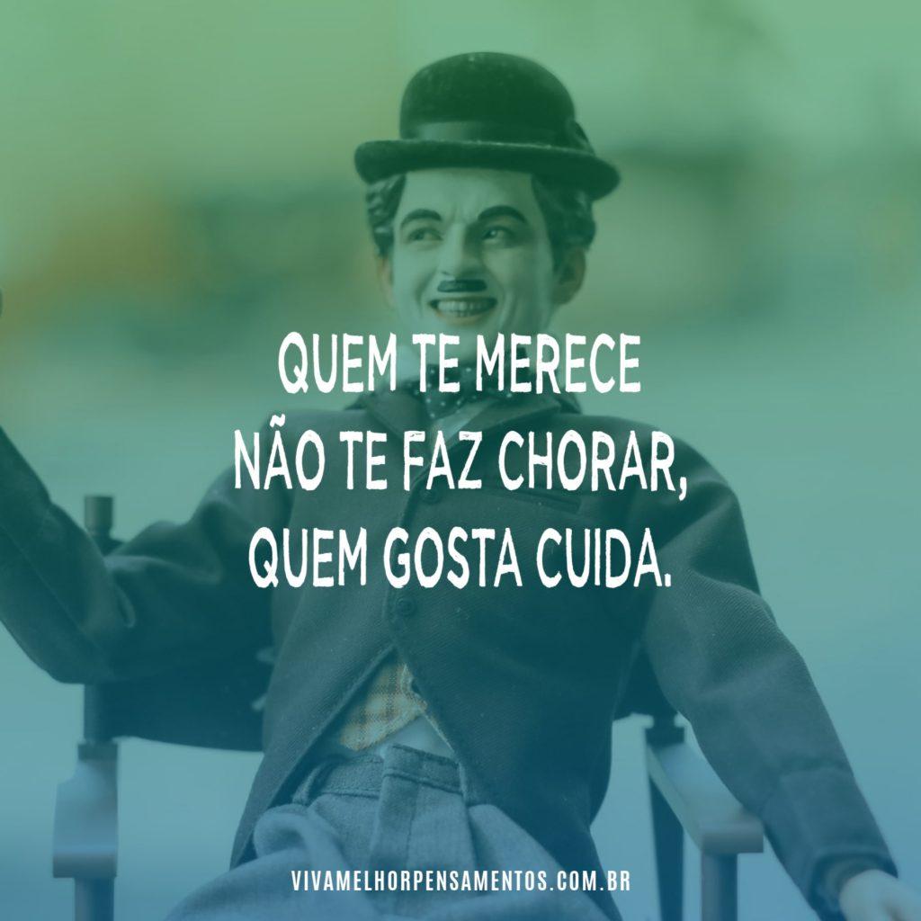 Quem gosta cuida - Charles Chaplin